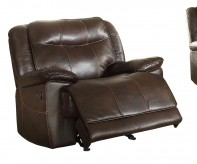 Homelegance Wasola Dark Brown Glider Reclining Chair Available Online in Dallas Fort Worth Texas
