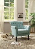 Homelegance Barlowe Blue Accent Chair Available Online in Dallas Fort Worth Texas