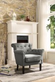 Homelegance Barlowe Grey Accent Chair Available Online in Dallas Fort Worth Texas