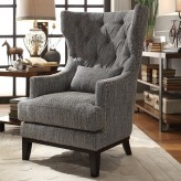 Homelegance Adriano Grey Accent Chair Available Online in Dallas Fort Worth Texas