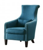 Homelegance Arles Blue Accent Chair Available Online in Dallas Fort Worth Texas