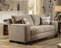 Homelegance Gowan Brown Loveseat Available Online in Dallas Fort Worth Texas