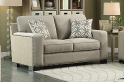 Homelegance Gowan Beige Loveseat Available Online in Dallas Fort Worth Texas