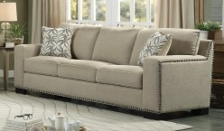 Homelegance Gowan Beige Sofa Available Online in Dallas Fort Worth Texas