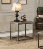 Homelegance Daria Grey End Table Available Online in Dallas Fort Worth Texas
