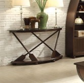 Homelegance Hatchett Lake Brown Cherry Sofa Table Available Online in Dallas Fort Worth Texas
