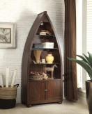 Homelegance Hatchett Lake Brown Cherry Bookcase Available Online in Dallas Fort Worth Texas
