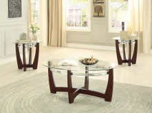 Homelegance Vasily 3pc Cherry C... Available Online in Dallas Fort Worth Texas