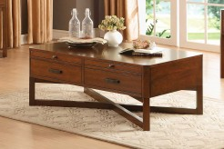 Homelegance Capitan Cherry Cocktail Table Available Online in Dallas Fort Worth Texas