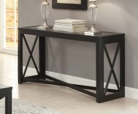 Homelegance Berlin Black Sofa Table Available Online in Dallas Fort Worth Texas