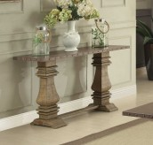 Homelegance Anna Claire Oak Sofa Table Available Online in Dallas Fort Worth Texas