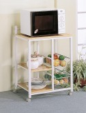 Coaster Microwave Serving Cart Available Online in Dallas Fort Worth Texas