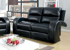 Odette Black Loveseat Available Online in Dallas Fort Worth Texas