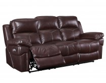Warner Power Recline Sofa Available Online in Dallas Texas