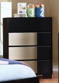 Coaster Havering Black/Sterling Chest Available Online in Dallas Fort Worth Texas