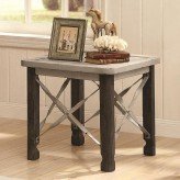 Coaster Garner Antique White End Table Available Online in Dallas Fort Worth Texas