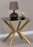 Coaster Salu Brushed Brass End ... Available Online in Dallas Fort Worth Texas
