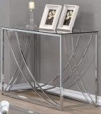 Coaster Matind Chrome Sofa Table Available Online in Dallas Fort Worth Texas
