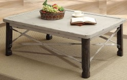 Coaster Garner Antique White Coffee Table Available Online in Dallas Fort Worth Texas