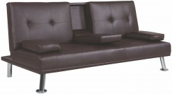 Coaster Futons Brown Sofa Bed Available Online in Dallas Fort Worth Texas