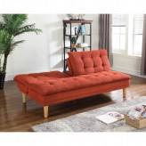 Coaster Montbrook Orange Sofa Bed Available Online in Dallas Fort Worth Texas