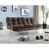 Coaster Sambra Brown Plush Sofa... Available Online in Dallas Fort Worth Texas