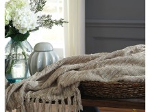 Ashley Noland Almond Throw Available Online in Dallas Fort Worth Texas