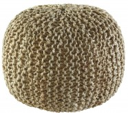 Ashley Dilip Natural Pouf Available Online in Dallas Fort Worth Texas