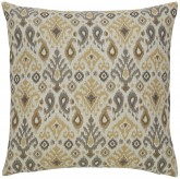 Damarion Taupe & Gold Pillow Available Online in Dallas Fort Worth Texas