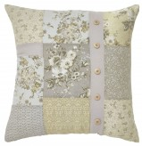 Josey Yellow & Cream Pillow Available Online in Dallas Fort Worth Texas