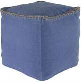 Ashley Caius Periwinkle Pouf Available Online in Dallas Fort Worth Texas