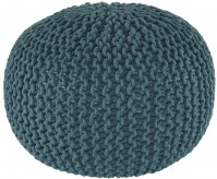 Ashley Nils Teal Pouf Available Online in Dallas Fort Worth Texas