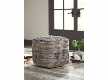 Ashley Absalom Natural Pouf Available Online in Dallas Fort Worth Texas