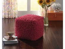 Ashley Taisce Fuchsia Pouf Available Online in Dallas Fort Worth Texas