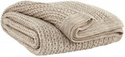 Ashley Zaid Natural Throw Available Online in Dallas Fort Worth Texas