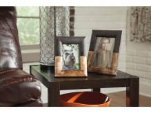 Ashley Michi Bronze Wood Photo Frame Set of 2 Available Online in Dallas Fort Worth Texas