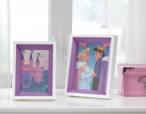 Ashley Obie White & Purple Photo Frame Set of 2 Available Online in Dallas Fort Worth Texas