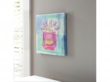 Ashley Beula Blue/White Wall Art Available Online in Dallas Fort Worth Texas