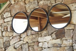Ashley Ohanko Black Accent Mirror Available Online in Dallas Fort Worth Texas