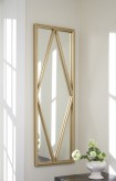 Ashley Offa Gold Accent Mirror Available Online in Dallas Fort Worth Texas