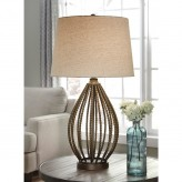 Ashley Darrius Bronze Table Lamp Available Online in Dallas Fort Worth Texas