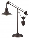 Kylen Bronze Metal Desk Lamp Available Online in Dallas Fort Worth Texas