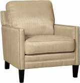 Ashley Vilonia Linen Accent Chair Available Online in Dallas Fort Worth Texas