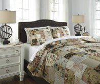 Ashley Damalis Multi King Quilt Set Available Online in Dallas Fort Worth Texas