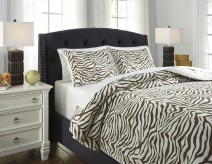 Ashley Hyun Beige and Brown King Duvet Cover Set Available Online in Dallas Fort Worth Texas