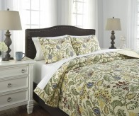 Ashley Damyan Multi Queen Coverlet Set Available Online in Dallas Fort Worth Texas