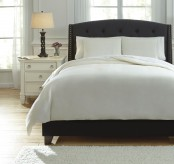 Ashley Bergden Ivory King Duvet Cover Set Available Online in Dallas Fort Worth Texas