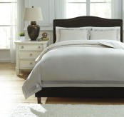 Ashley Farday Natural Queen Duvet Cover Set Available Online in Dallas Fort Worth Texas