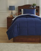 Ashley Plainfield Navy Twin Comforter Set Available Online in Dallas Fort Worth Texas
