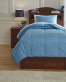 Ashley Plainfield Aqua Twin Comforter Set Available Online in Dallas Fort Worth Texas